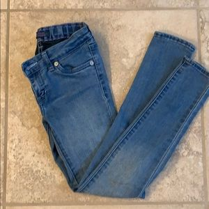 Girls Levi's denim jeggings size 7